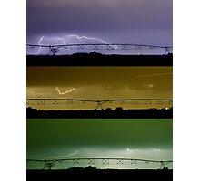 Lightning Warhol  Abstract Photographic Print