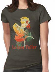 Jules Cheret - La Loie Fuller Womens Fitted T-Shirt