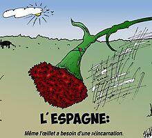 Caricature des Infos Options Binaires Reincarnation en Espagne by Binary-Options