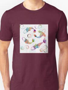 Peaceful Kois Unisex T-Shirt