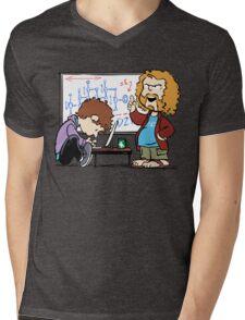 Pied Piper's Peanuts Mens V-Neck T-Shirt