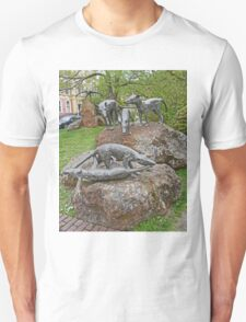 Thylacine Sculpture Unisex T-Shirt