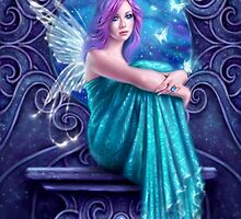 Astraea Fairy with Butterflies by Rachel Anderson