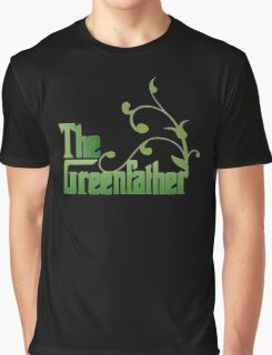 The Greenfather: Environmental Parody Graphic T-Shirt