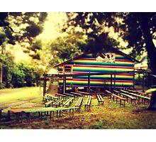 Nimbin's Playground Photographic Print