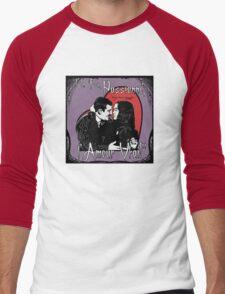 """""""Un Fou, Passionné, l'Amour Vrai!""""- One Crazy, Passionate, True Love! (purple) Men's Baseball ¾ T-Shirt"""