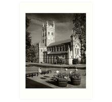 Buckfast Abbey Art Print