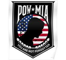 POW MIA Poster