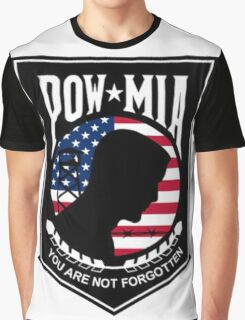 POW MIA Graphic T-Shirt