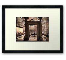 Hagia Sophia Baptistery Framed Print