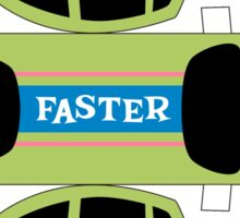Go Faster! Sticker