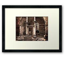 Hagia Sophia Baptistery 2 Framed Print