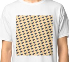 Pop Art Ocarina Tilted Pattern Classic T-Shirt
