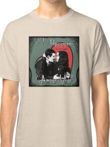 """Un Fou, Passionné, l'Amour Vrai!""- One Crazy, Passionate, True Love! (green) Classic T-Shirt"
