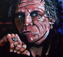 Keith Richards by Dan Wilcox