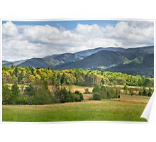 Cades Cove Valley Poster