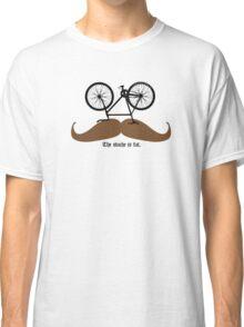 Hipster Bike Mustache  Classic T-Shirt