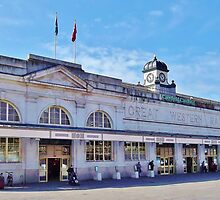 Cardiff Central Railway Station by Paula J James