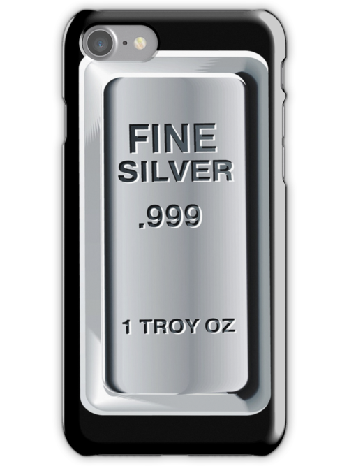 Silver Bullion iPod / iPhone Case by CroDesign