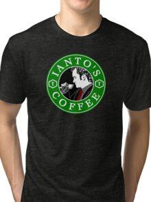Ianto's Coffee Tri-blend T-Shirt