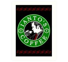 Ianto's Coffee Art Print