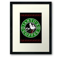 Ianto's Coffee Framed Print