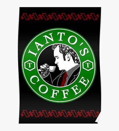 Ianto's Coffee Poster