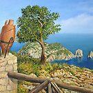 Monte Solaro on island Capri by kirilart