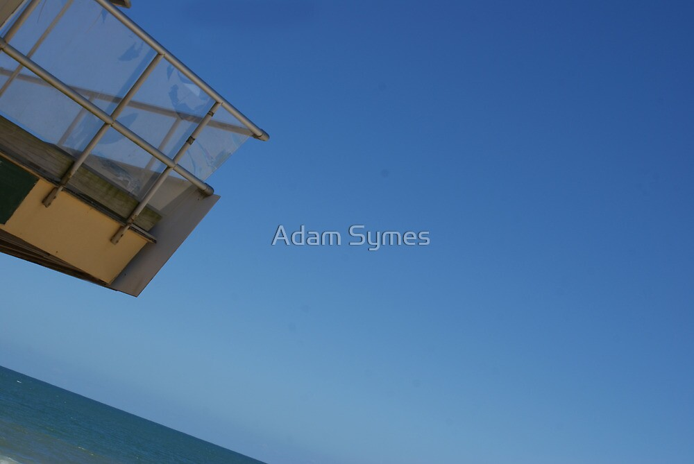 Baywatch at an angle by Adam Symes