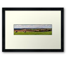 Where I live! Framed Print