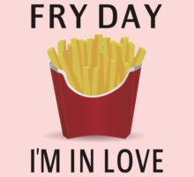 Fry Day I'm In Love Kids Tee