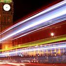 London - Big Ben - Streaks by rsangsterkelly