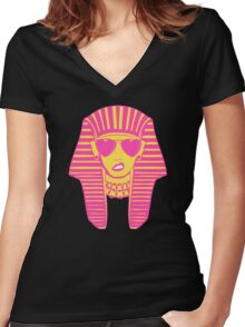 Ancient & Fabulous Women's Fitted V-Neck T-Shirt
