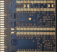 Circuit Board by Nigel Bangert