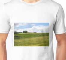 Rolling green hills with trees Photographed in Tuscany, Italy Unisex T-Shirt