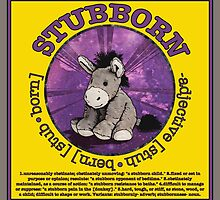 Stubborn Donkey Plush (yellow) by torg