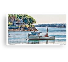Casco Bay Maine Canvas Print