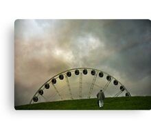 Up the Hill Canvas Print