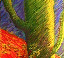 Vincent's Saguaro by Jack Bybee