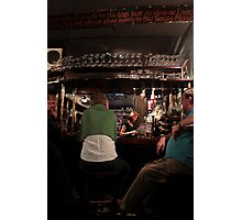 Covent Garden: The Lamb & Flag - Sitting At The Bar Photographic Print