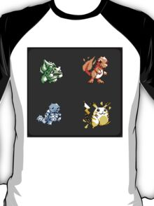 Pokemon Gen I Starters T-Shirt