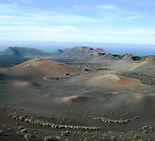 Timanfaya National Park - Lanzarote by Rosie Connor