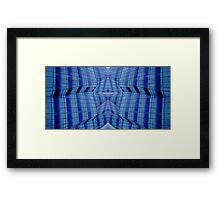 Mirror Lines Framed Print