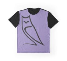 Vector Style Owl Graphic T-Shirt