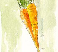 Crunchy orange powerfood by Maree Clarkson