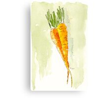 Crunchy orange powerfood Canvas Print