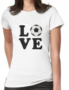 Love Football Womens Fitted T-Shirt