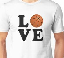 Love Basketball Unisex T-Shirt