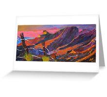 Sunset on the Ridges Greeting Card