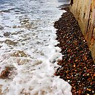 Waves By The Sea Wall! by DCLehnsherr